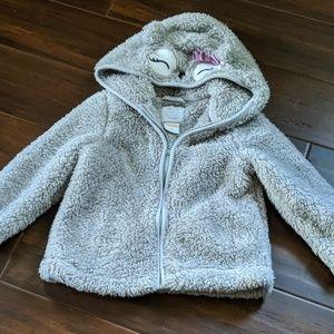 EUC fuzzy jacket